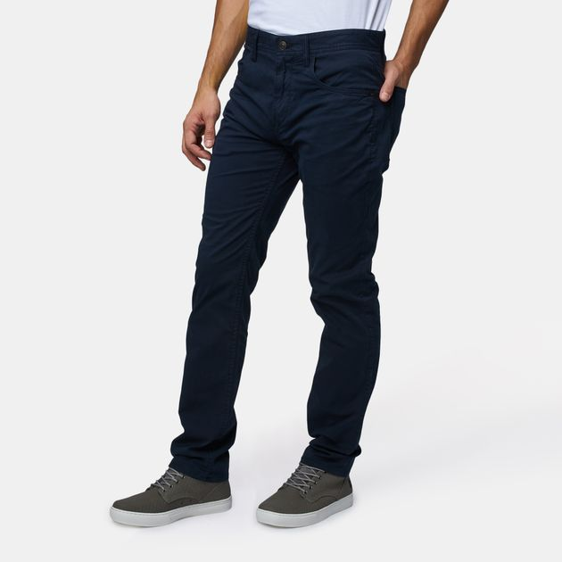 Timberland Squam Lake Straight Fit Stretch 5-Pocket Pants