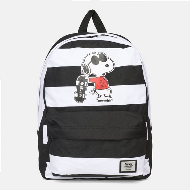 6bf2e5438cf4 Shop Multi Vans Peanuts Realm Backpack for Womens by Vans - 4