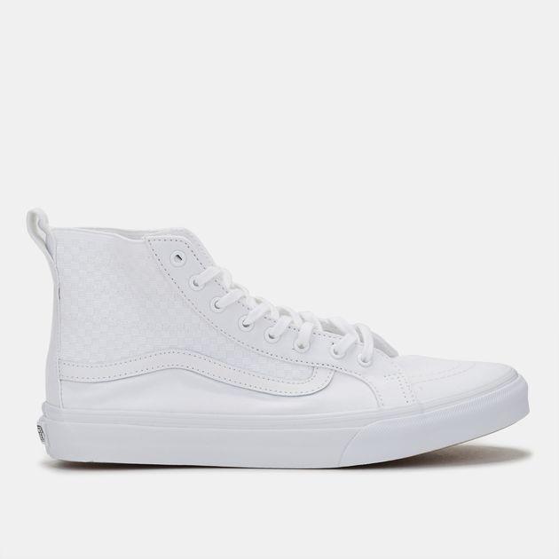 eae63bad1f Vans Checker SK8-Hi Slim Gore Shoe