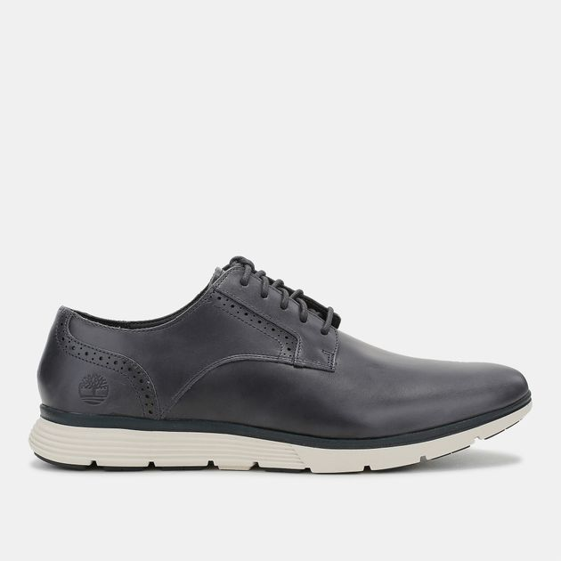 Shop Black Timberland Franklin Park Brogue Oxford Shoes for