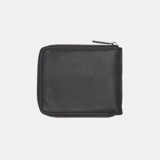 884d965a8611f7 Shop Black Vans Drop V Zip Wallet for Mens by Vans