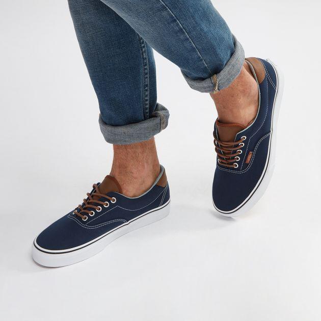 0533b22045 Shop Blue Vans C   L Era 59 Shoe for Mens by Vans