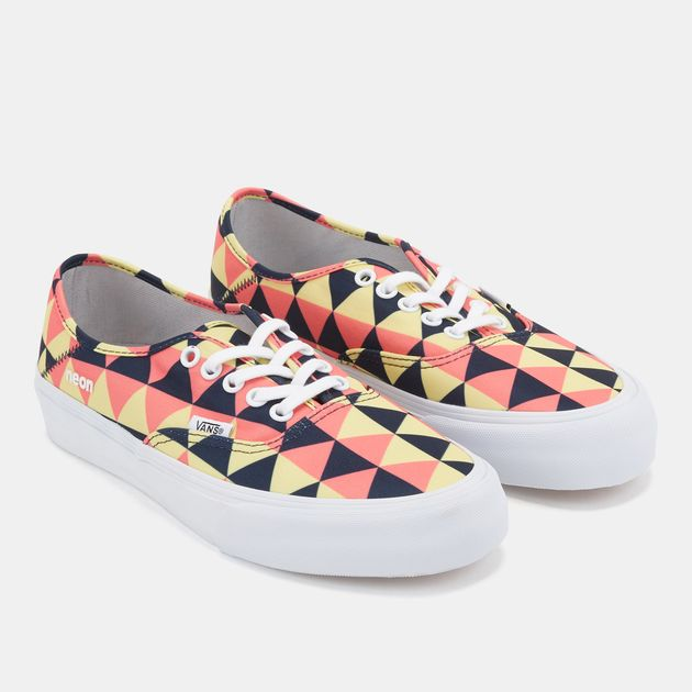 2ba4b6cf8c17 Shop Multi Vans Authentic SF Neon Shoe for Womens by Vans