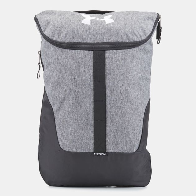 11c47e0cbd Shop Grey Under Armour Expandable Sackpack Bag