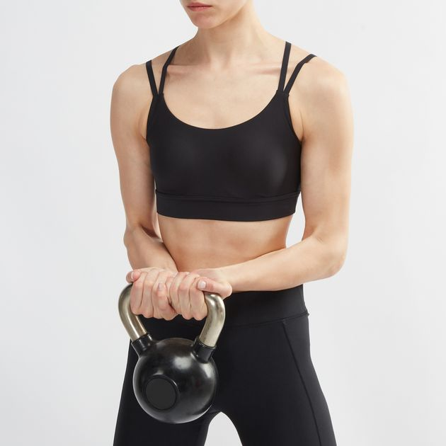 e3fd665b475be Shop Black Under Armour Vanish Eclipse Low Sports Bra for Womens by ...