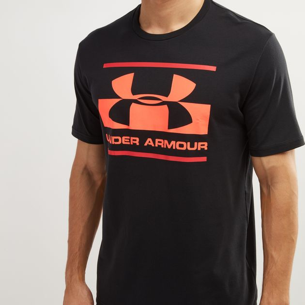 aa678101 Under Armour Blocked Sportstyle Logo T-Shirt | T-Shirts | Tops ...