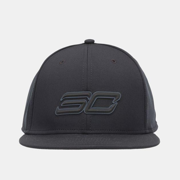 06014f875b3 Shop Black Under Armour SC30 Core Snapback Cap