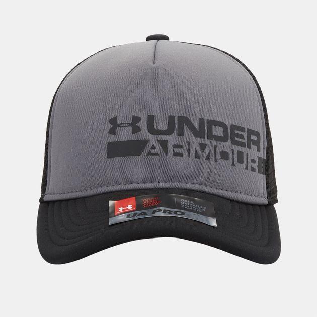 Under Armour Kids  Novelty Trucker Cap - Grey 30775c9e3b4