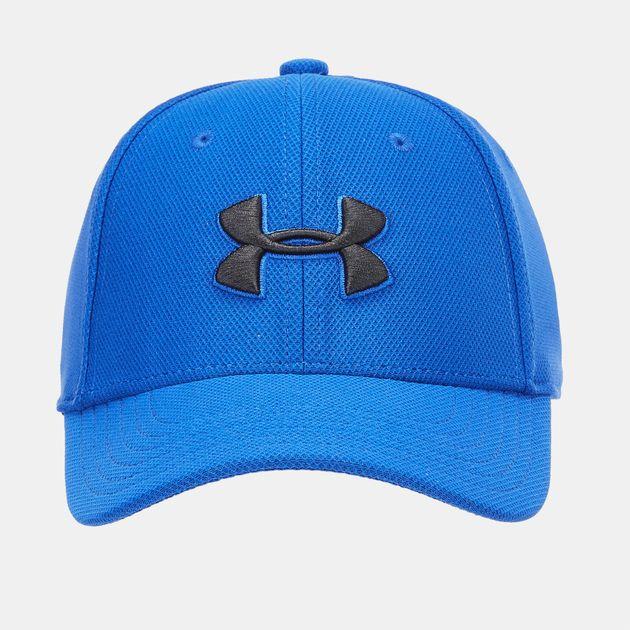 Shop Blue Under Armour Kids  Blitzing 3.0 Cap  1df5c98b091