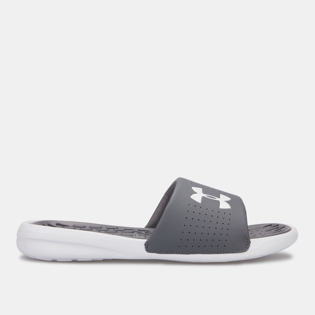 new style bc0c7 22215 Under Armour Men s Playmaker Fixed Strap Slides, 1510455