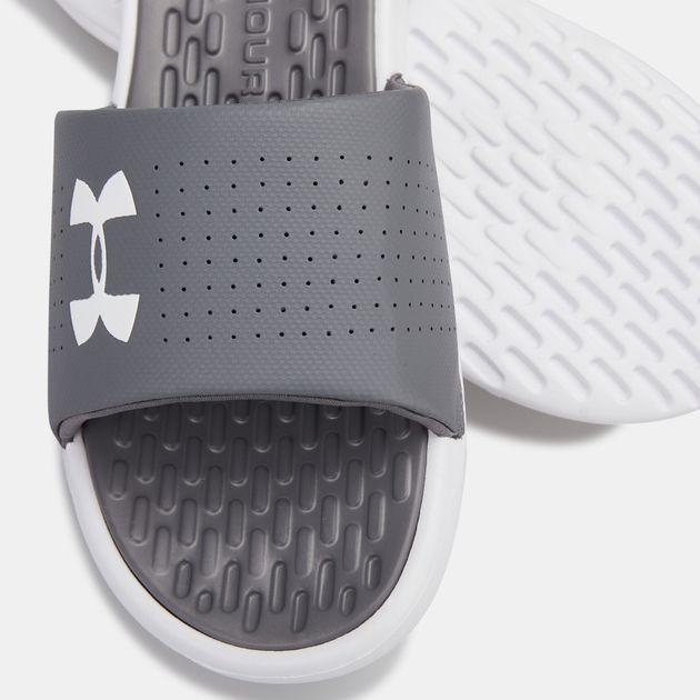 Under Armour Mens Playmaker Fixed Strap Slide Sandal