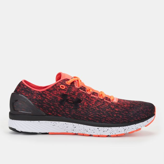 new concept 2aba3 fe8dc Shop Orange Under Armour Charged Bandit 3 Ombre Running Shoe ...