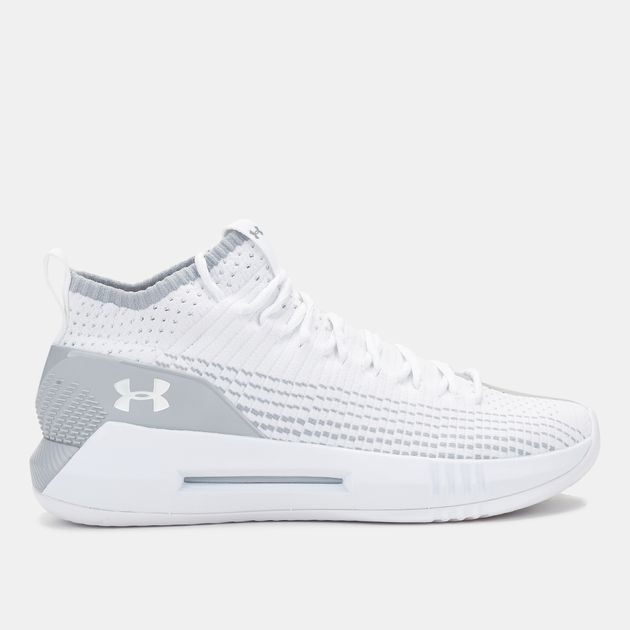 3b4690b502e3 Shop White Under Armour Heat Seeker Basketball Shoe for Mens by ...