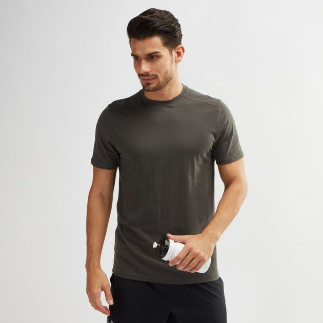 Under Armour Mens Run Back Graphic T-Shirt Under Armour Apparel 1316180