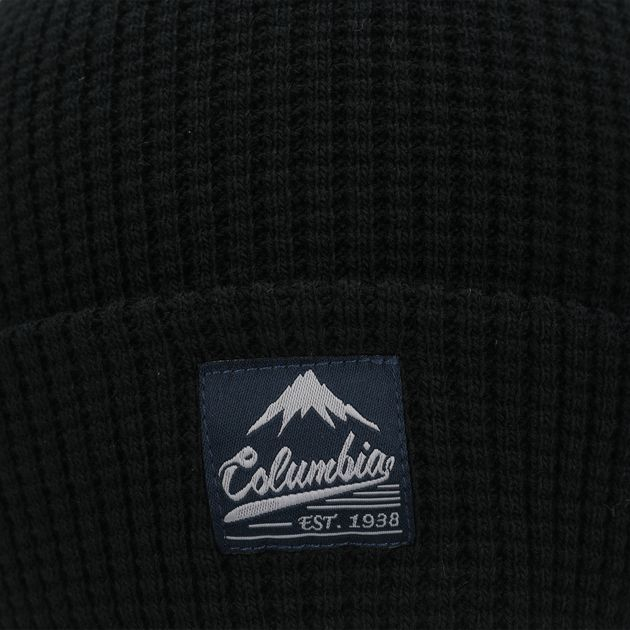 6b66643e322 Columbia Lost Lager™ Waffle Beanie - Black