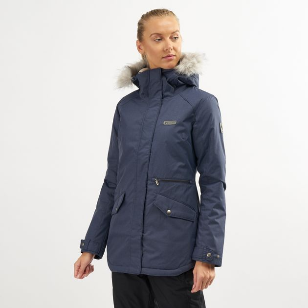 Columbia womens Suttle Mountain Long Insulated Jacket