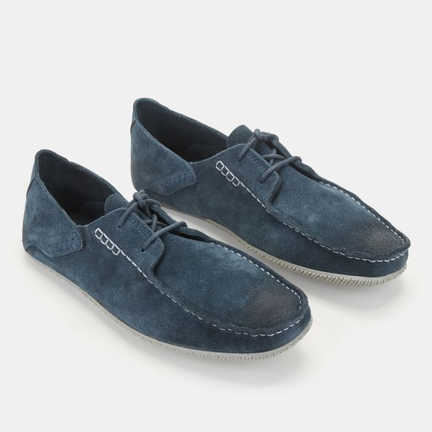 Shop Blue Timberland Clyde Hill Handsewn Loafer Shoe for