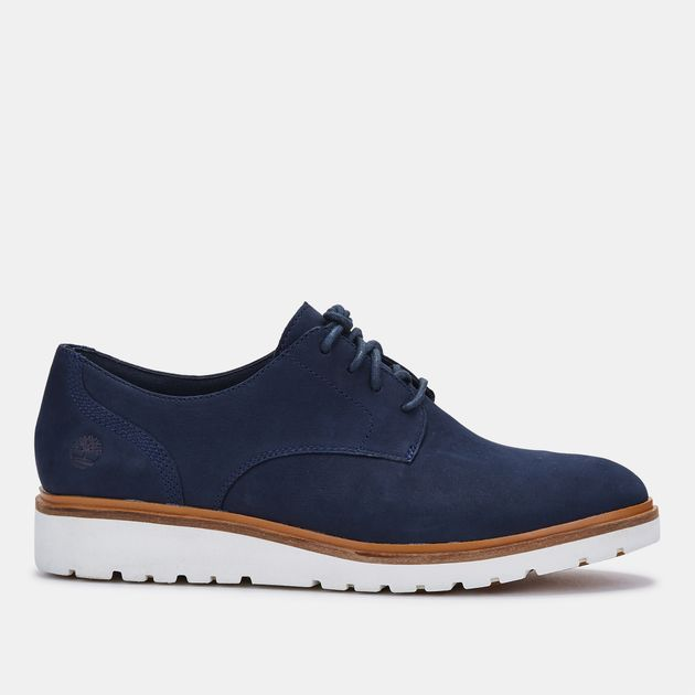 1466ddcf3f85 Shop Black Timberland Ellis Street Lace-Up Oxford Shoe for Womens by ...