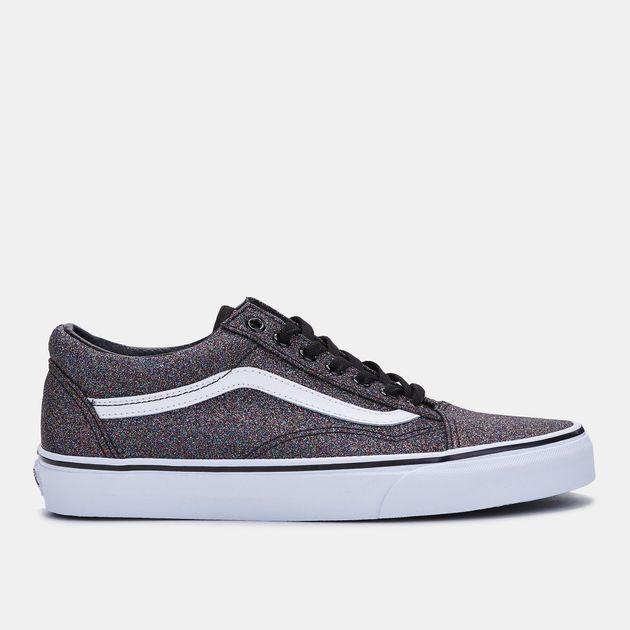 fe5436f4350 Shop Multi Vans Glitter Old Skool Shoe for Womens by Vans