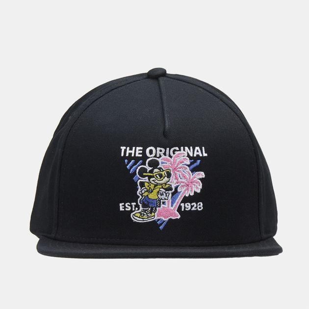 Vans x Disney Mickey Mouse 90th Snapback Cap - Black 465d76067ae