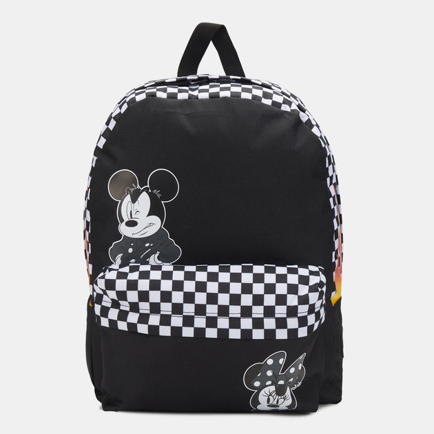 7618b6d062 Vans x Disney Mickey Mouse Punk Realm Backpack - Black