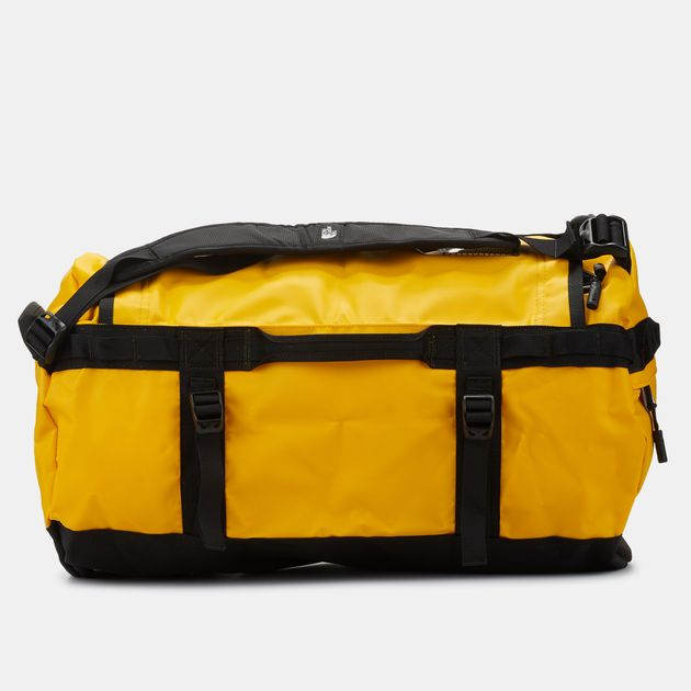 d537ebf0768 Shop Yellow The North Face Base Camp Duffel Bag (S) for Unisex by ...