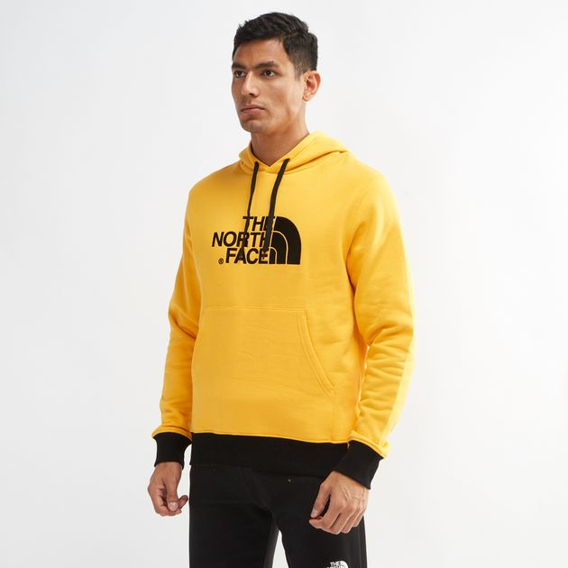 2dbba6559 Shop Yellow The North Face Drew Peak Pullover Hoodie for Mens by The ...