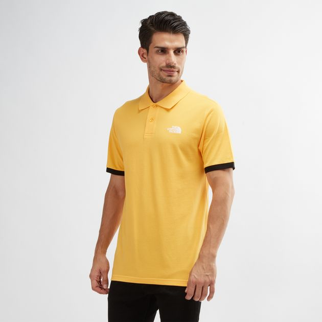 02936fdae Yellow The North Face Piquet Polo T-Shirt | Polo Shirts | Tops ...
