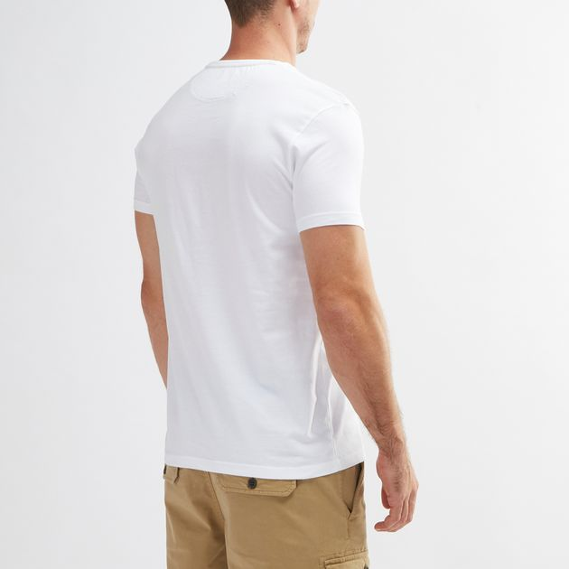 9092893f Shop White Timberland Dunstan River Slim T-Shirt for Mens by ...