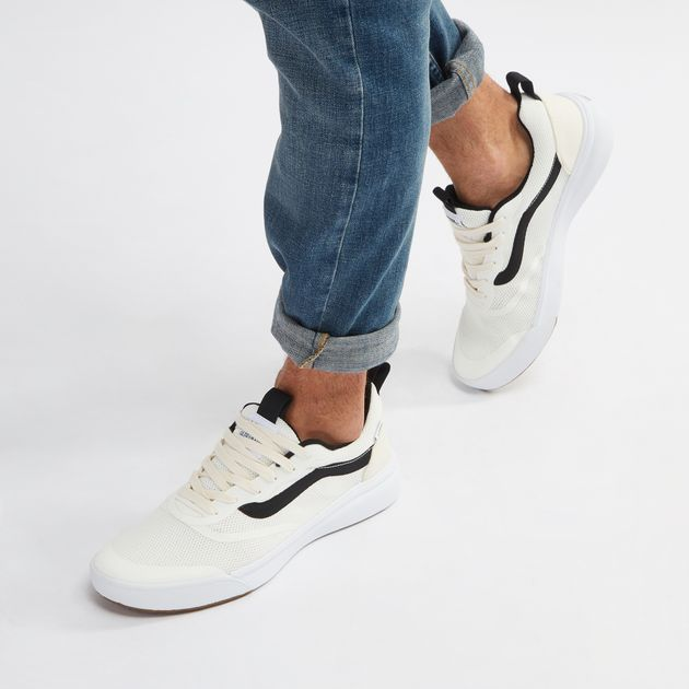 Shop White Vans UltraRange Rapidweld Shoe for Unisex by Vans  cc18b7021