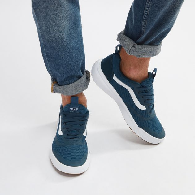 Shop Blue Vans UltraRange Rapidweld Shoe for Mens by Vans  9927f9ac1