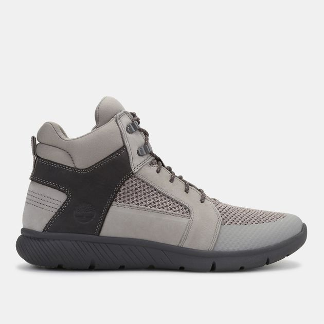 thoughts on new high super popular Shop Grey Timberland Boltero Mixed Mid Chukka Boot for Mens ...