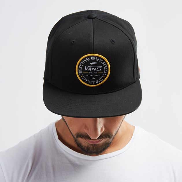 9a3da7b9d1d6b Vans Established 66 Snapback Cap - Black