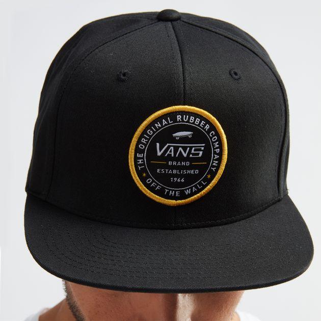 f4e865b4f58 Vans Established 66 Snapback Cap - Black