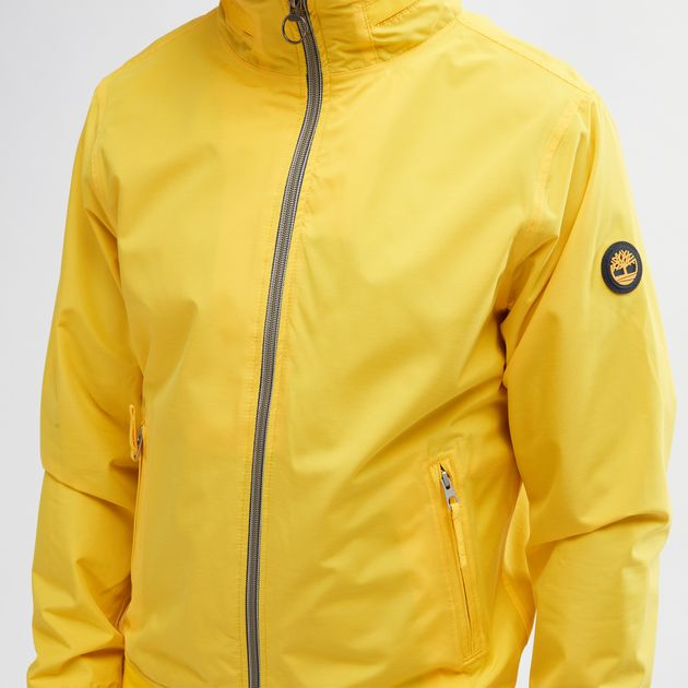 Shop Yellow Timberland® Mount Kearsage Sailor Bomber Jacket for Mens ... 38d9a6cab04