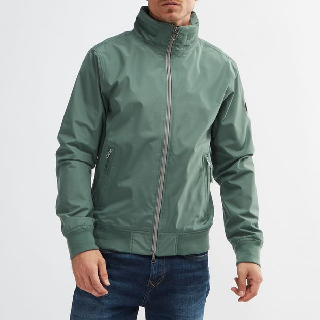 Shop Green Timberland® Mount Kearsage Sailor Bomber Jacket for Mens ... 87ad1513ccc