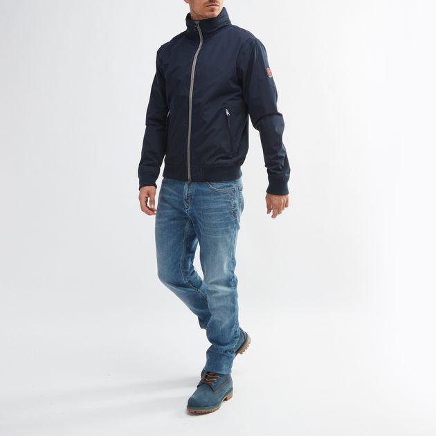 Shop Blue Timberland® Mount Kearsage Sailor Bomber Jacket for Mens ... 53c311240c2