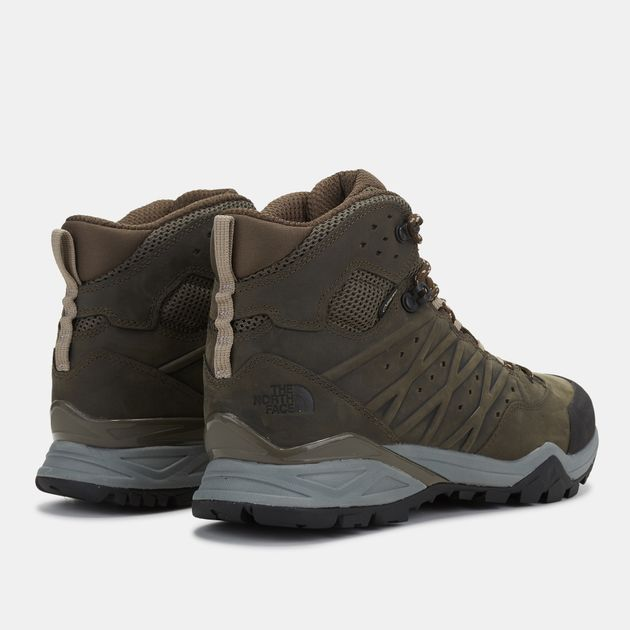 21e09e3644b Shop Green The North Face Hedgehog Hike II Mid GORE-TEX® Boots for ...