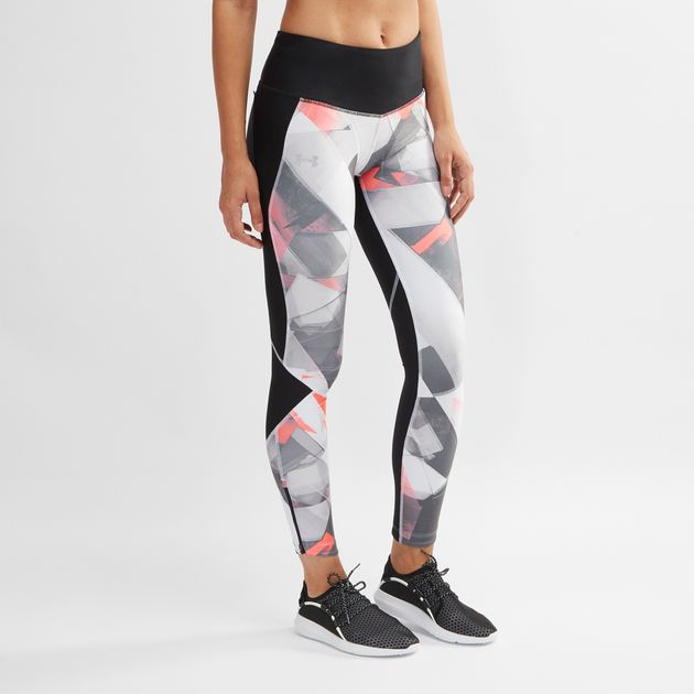 7ee72c9983c7a Under Armour Fly Fast Printed Running Leggings | Full Length ...