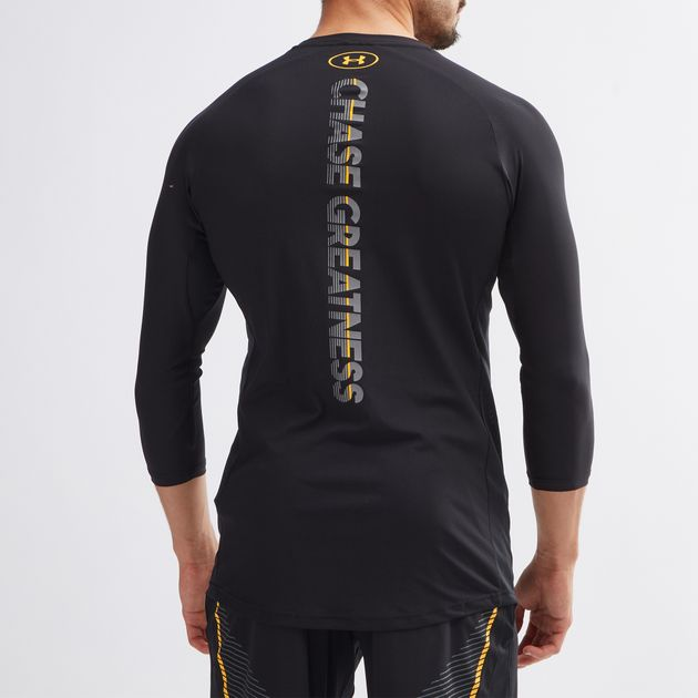 43bf184cd Under Armour Project Rock Vanish 3/4 Long Sleeve T-Shirt | T-Shirts ...