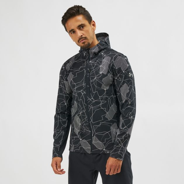 Under Armour Outrun The Storm Printed Jacket Jackets Clothing