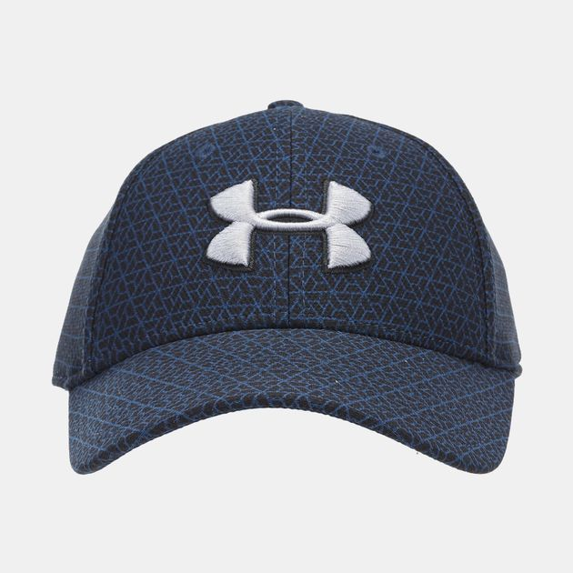 6974049c Under Armour Printed Blitzing 3.0 Stretch Fit Cap | Caps | Caps and ...