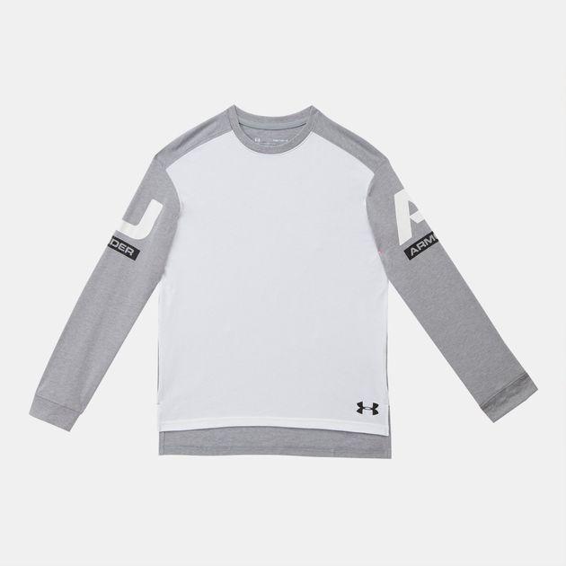 Under Armour Kids' Sportstyle Long Sleeve Sweatshirt
