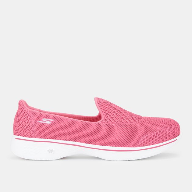 beautiful in colour fast delivery how to orders Skechers GOwalk 4 Air Mesh Slip On Shoe