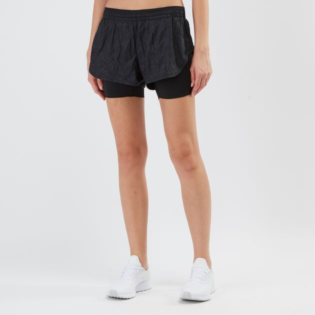 details for presenting utterly stylish Nike Elevate 2-in-1 Running Shorts | Shorts | Clothing ...