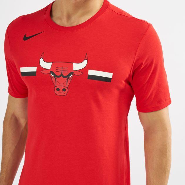 more photos 43eb0 1a1af Nike Nba Chicago Bulls Dri-Fit T-Shirt | T-Shirts | Tops ...
