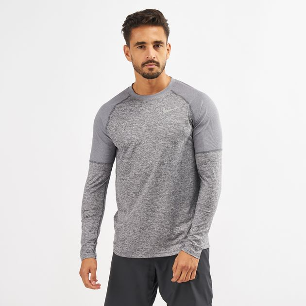 4ad26439 Nike Element Running Crew Long Sleeve T-Shirt | T-Shirts | Tops ...