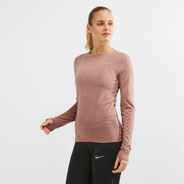 8967ed99d5a27 Nike Medalist Long Sleeve Running T-Shirt | T-Shirts | Tops ...