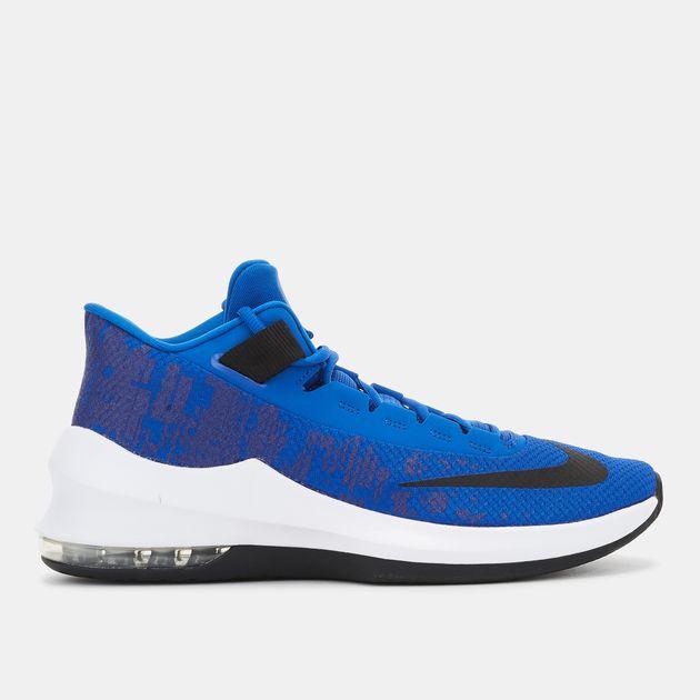 e6bd17e811594c Shop Blue Nike Air Max Infuriate 2 Mid Shoe