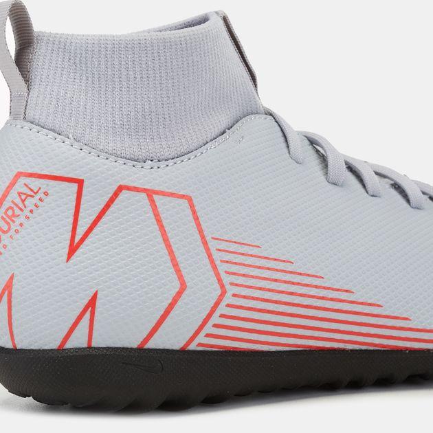 best service a4458 bb2c6 Nike Kids' Mercurial SuperflyX VI Club Turf Football Shoe (Younger Kids)